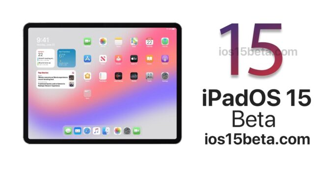 iPadOS 15 Beta Download