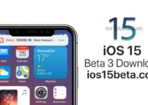 iOS 15 Beta 3 Download