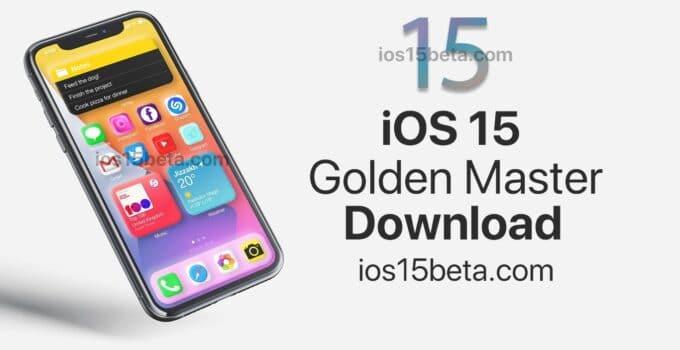 iOS 15 GM (Golden master) Download