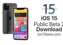 iOS 15 Public Beta 2 Download