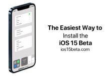 The Easiest Way to Install the iOS 15 Beta