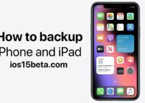 How to backup iPhone and iPad